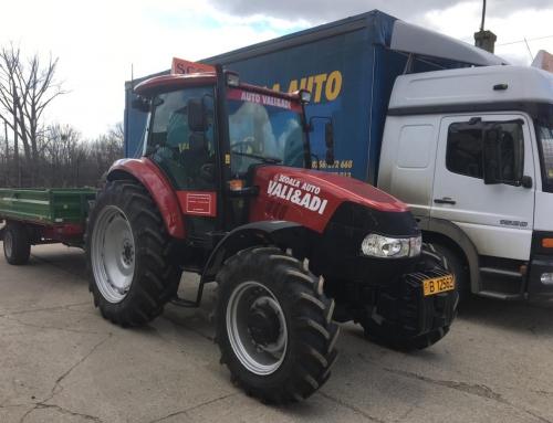 Categoria Tr cu noul tractor Case